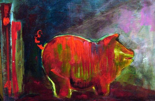 Little Pig by LauraWilde