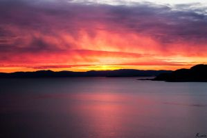 Sunset of Norway by Kissi94