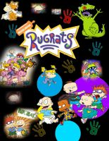Rugrats by MoonlitSnowWolf