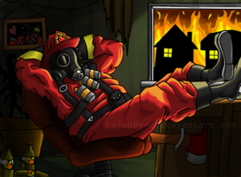Fire Chief Pyro by CajunPyro