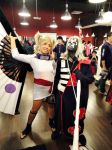 Hidan and Temari Cosplay Mania by Mahadesu