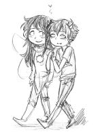 Sollux and Aradia by Nurbzwax
