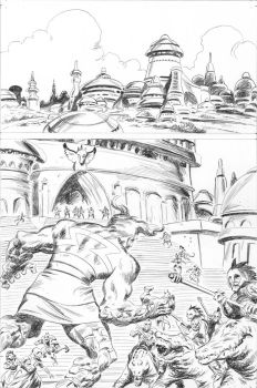 PEACE 1 - pencils by benitogallego