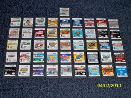 Angels DS game collection by Angelicstubborness