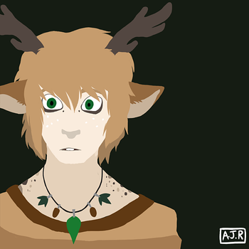 A Simple Deer by foryouistellify