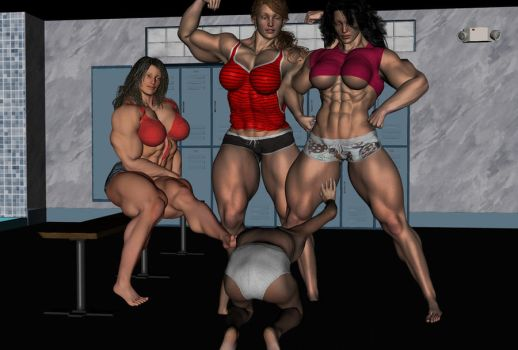 trouble at the gym 3 by jstilton