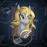 MLP FIM: Derpy Headphone shirt - Welovefine by hinoraito