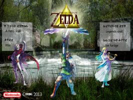 Offical Zelda Anime Poster by skysoul25