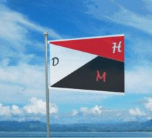 DHM FLag Wavy version by A-Nicholie-pics