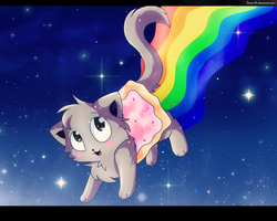 Nyan Cat by Denia-DN