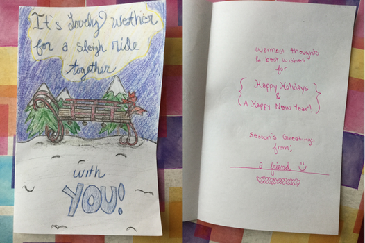 My #HolidayCardProject by funbubble101
