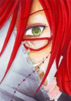 ACEO - Grell by Shaggai