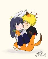 NaruHina: My lil rabbit by JcNight-Art