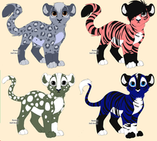 Free Kitty Adopts by Honey-PawStep