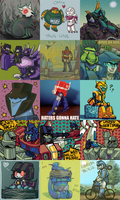 Icon Mosaic 3 by Humblebot