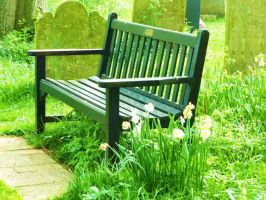 That bench. by Toiger
