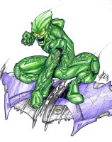 Green Goblin 02 by LucasAckerman