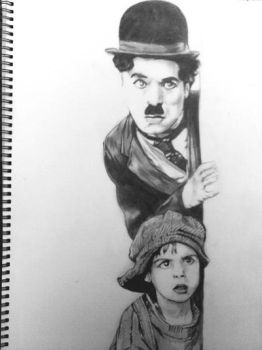 Charlie Chaplin - The kid by Soulbound22