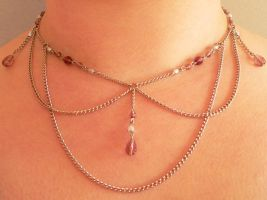 Medieval Mayhem Necklace by BlackCatsAngel