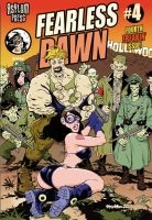 Fearless Dawn 4 Cover Color by rattlesnapper