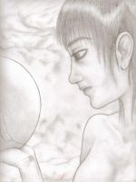 Woman with Orb by SunSweetSara