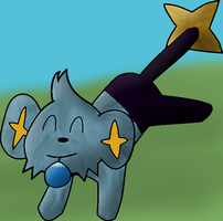 Shinx found a bewwy by Someguyfromcrowd