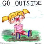 Go outside silly by sergaz
