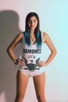 The Ramones girl by Harley-quinn16