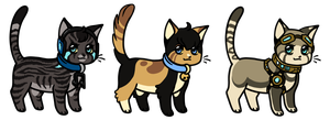 Chibi cats Adoptables 05 CLOSED by Roneri