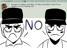 AMaF: Mike and Batter question #96 by The-Star-Hunter