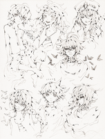 Magi sketches by TwigPrince
