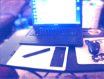 VERY SMALL DESK OF MINE OHOHO by s-ailor