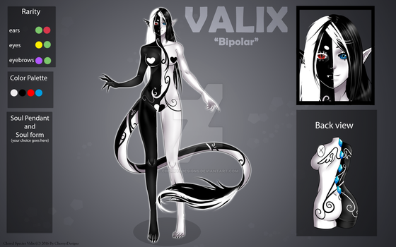(closed) Auction Adopt - Valix: Bipolar by CherrysDesigns