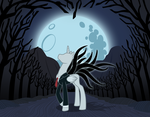 Commission: Slender Man (Pony) by Trinityinyang