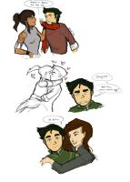 Makorra Established...What about Bolin? by liminowl
