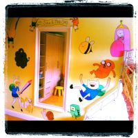 Adventure Time Wall Mural Full by VeryBadThing