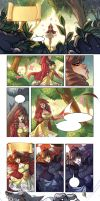 RED RIDING HOOD pages (incomplete) by MirkAnd89