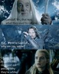 LOTR and Mean Girls by kvothetheraven