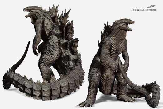 zGodzilla Extreme alternate views by dopepope