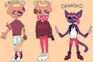 the polka dot boys reference sheet by ribless