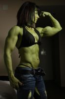 She Hulk Ripped Jeans by shehulk54675467