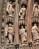 Cathedrale de Strasbourg (details) by JoelRemy222