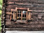 The window of an old house. by BW-Neelly