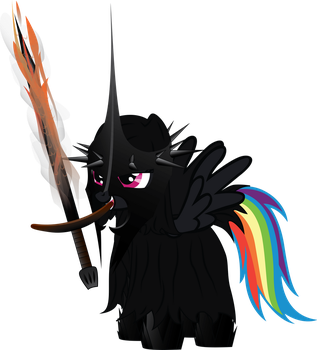 Rainbow Mare of Angmar by RainbowCrab