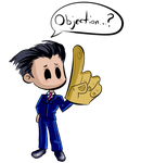 2009 - Phoenix Wright by TheCatlady