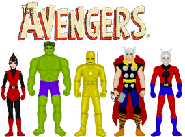 The Avengers 2 by MetalLion1888