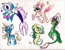 Special Sea Ponies by Chickfila-Chick