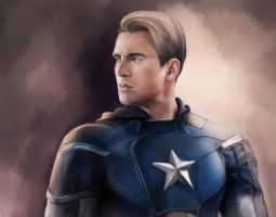 Captain America by nokky