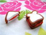 Jam Sandwich Charms by Origami-Joe