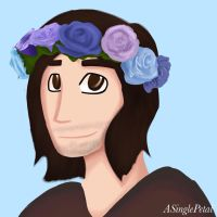 .: Flower crown - Danny :. by ASinglePetal